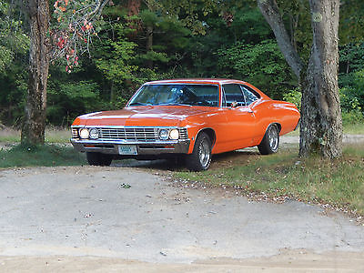 Chevrolet : Impala 2 Door Fastback 1967 chevy impala perfect antique car chevy impala 1967 antique car fastback
