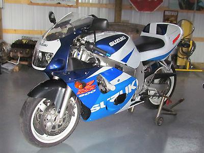 Suzuki : GSX-R 1998 suzuki gsx r 600 gsxr 600 gsxr srad 2800 original miles