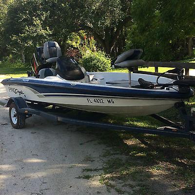 2003 Procraft Bass fishing boat 17'2