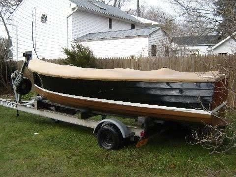 16' 1950 Custom Jersey Speed Skiff