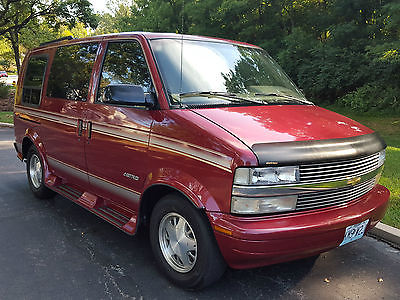 Chevrolet Astro Osage Conversion 1995 Chevy Package