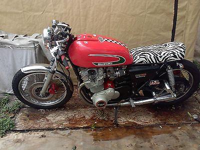 Suzuki : Other 1977 suzuki gs 750 motorcycle cafe racer rockabilly fully restored