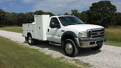 Ford : Other Pickups XL Cab & Chassis 2-Door 2007 ford f 550 4 x 4 service utility bed crane bed bullet proof mechanic truck