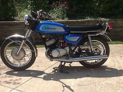 Kawasaki : Other 1971 kawasaki 500 h 1 motorcycle