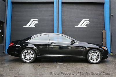Mercedes-Benz : CL-Class CL600 2dr Coupe 5.5L V12 RWD 2009 mercedes benz cl 600 black on black 45 k miles financingavailableaccepttrades