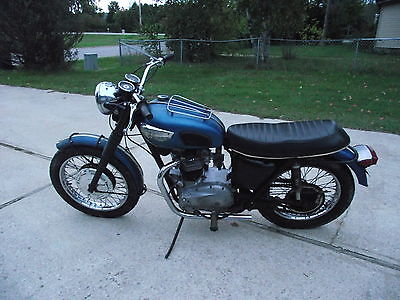 Triumph : Tiger 1968 Triumph Tr 6 650 Matching Numbers Frame Motor Title  Runs Updated 9