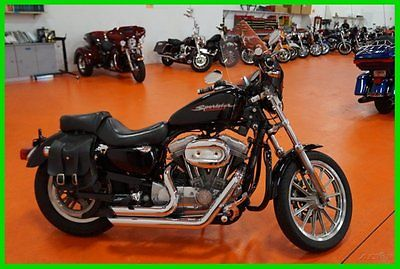 Harley-Davidson : Sportster Used 04 Harley-Davidson Sportster 883 Exhaust Passenger Ready Windshield