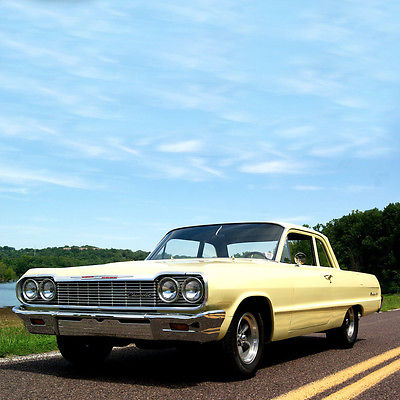 Chevrolet : Other Chevrolet Biscayne 1964 chevrolet biscayne 350 ci v 8 15 american racing wheels a must see