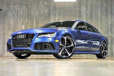 Audi : Other Prestige 2014 audi rs 7 1 ownr 140 k msrp carbon fiber innovation driver asst more