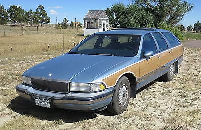 Buick : Roadmaster Estate 1992 buick roadmaster estate wagon wagon 4 door 5.7 l