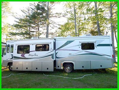 2002 Tiffin Motorhomes Allegro Bay GM Motor 800 Workhorse 2 Slide Outs New Tires