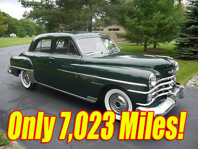 Chrysler : Royal 4 Door Sedan 1950 chrysler royal all original only 7 023 actual miles 250 c i l head 6 cyl