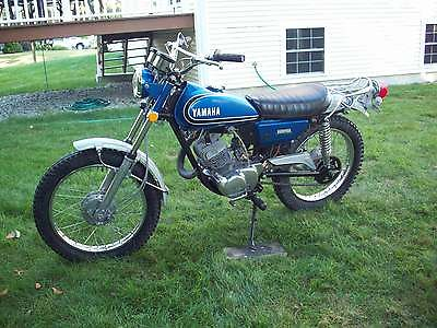 Yamaha : Other 1973 yamaha at 3 125 cc enduro at ct dt rt