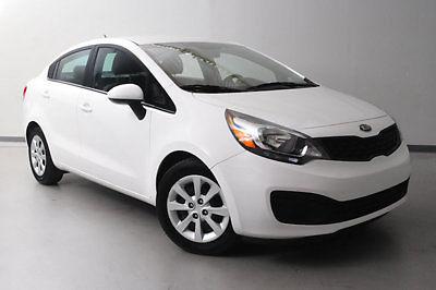 Kia : Rio 4dr Sedan Automatic LX 4 dr sedan automatic lx low miles automatic gasoline 1.6 l 4 cyl clear white