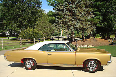 Pontiac : GTO 1967 pontiac gto concours gold winner nut bolt restoration of southwest car
