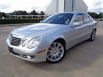 Mercedes-Benz : E-Class E550 4dr Sedan 5.5L RWD 07 benz e 550 lth htd cooled sts snrf nav wood grain