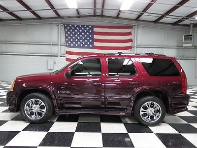 GMC : Yukon SLT Southern Comfort 1 owner warranty financing conversion ultimate leather sunroof tv dvd chrome 20 s