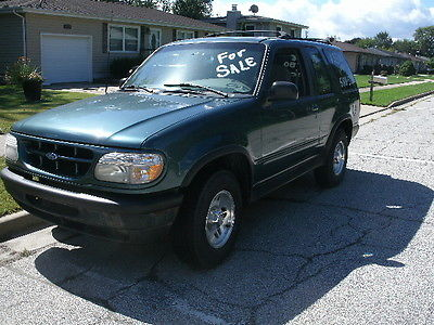 Ford : Explorer 1997 ford explorer green pass emissions 2 door 4 x 4 automatic v 6 new tires
