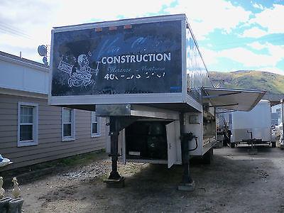 5th Wheel Commercial Construction Trailer Welder Gen. W/ Office AC $50,000 New