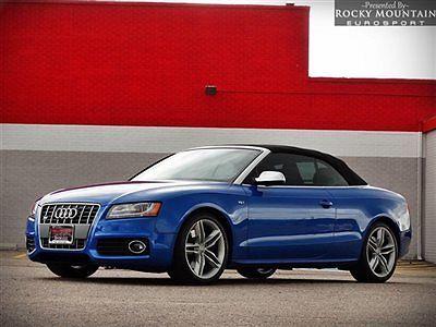 Audi : S5 2dr Cabriolet Premium Plus 2010 audi s 5 cabriolet premium plus loaded car clean carfax