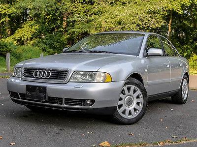 Audi : A4 2.8 2001 audi a 4 awd quattro 5 speed manual 74 kmi v 6 2.8 l carfax