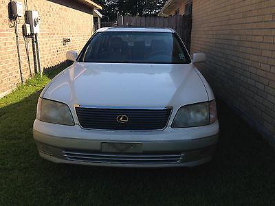 Lexus : LS 400 1998 lexus ls 400 base sedan 4 door 4.0 l v 8