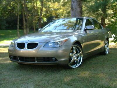 BMW : 5-Series 525i 2005 bmw 525 i excellent condition 20 chrome wheels