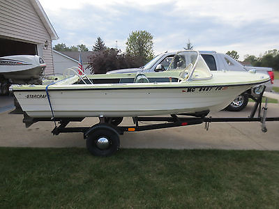1965 Starcraft Runabout with 40hp Evinrude and Trailer!!