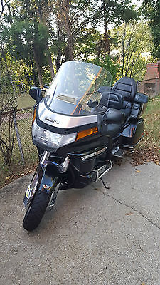 Honda : Gold Wing Black Honda Goldwing GL 1500 Aspencade with 26k original miles that runs perfect