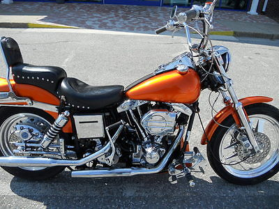 Harley-Davidson : Other HARLEY SHOVEL SHOVELHEAD FXS LOW RIDER 79 1970s W/ TONS OF CHROME & ENGRAVING