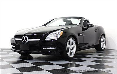Mercedes-Benz : SLK-Class CERTIFIED SLK350 CONVERTIBLE NAVIGATION SLK350 CONVERTIBLE 2012 15k miles NAVIGATION heated seats HARMAN KARDON iPOD nav
