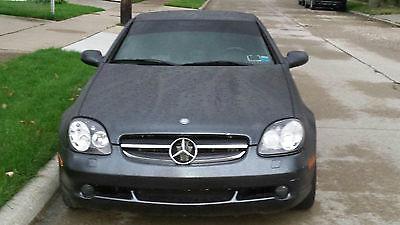 Mercedes-Benz : SLK-Class Kompressor 1999 mercedes benz slk 230 kompressor convertible 2 door 2.3 l