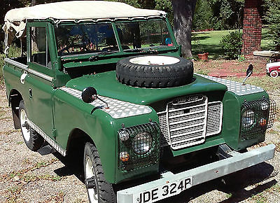 Land Rover : Other 88 Series III British Army Green, Soft Top, Excellent Condition for Age