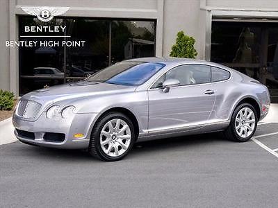 Bentley : Continental GT GT Coupe 2-Door 2005 bentley continental gt coupe 2 door 6.0 l w 12
