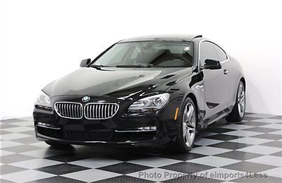 BMW : 6-Series CERTIFIED 650Xi xDRIVE AWD COUPE AWD CERTIFIED 2012 29k miles 650Xi xDRIVE COUPE navigation XENONS a/c seats iPOD