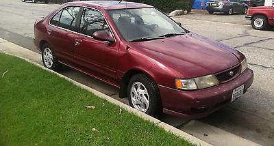 Nissan : Sentra GLE Sedan 4-Door 1998 nissan sentra gle 1.6 automatic new battery new front brakes new tires