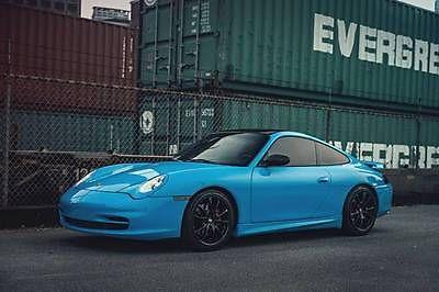 Porsche : 911 Carrera Coupe 2-Door Baby Blue SMURF Porsche 911 Coupe cayman boxster c63 m3 m5 m6 s4 s5 corvette