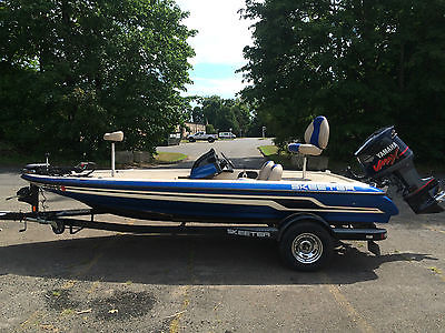 2008 Skeeter ZX190 bass boat with Yamaha Vmax 150, trolling, GPS, dual sounder