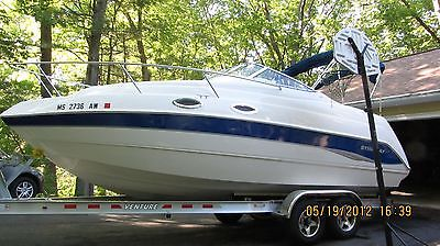 2010 Stingray 240CS cabin cruiser, hardly used, Excellent condition + Trailer