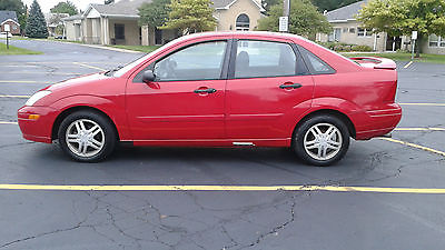 Ford : Focus SE RED FORD FOCUS NO RUST, ZTECH MOTOR, TIMING BELT DONE