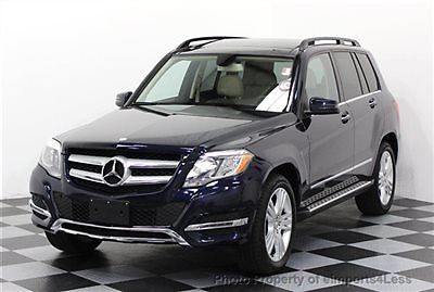 Mercedes-Benz : GLK-Class CERTIFIED GLK350 4Matic AWD SUV NAVIGATION AWD CERTIFIED 2014 10k miles FULL SIZE NAVIGATION back-up camera RUNNING BOARDS