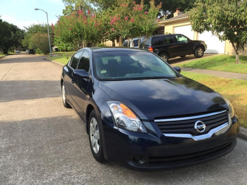nissan altima 2007 cars for sale in houston texas. Black Bedroom Furniture Sets. Home Design Ideas