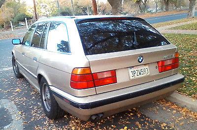 BMW : 5-Series Wagon 1995 bmw 525 it touring wagon estate e 34 cashmere beige