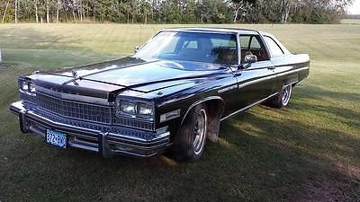 Buick : Electra Limited Coupe 2-Door Vintage 1975 Buick Electra 225 Limited Coupe 2-Door 7.5L 455 V8