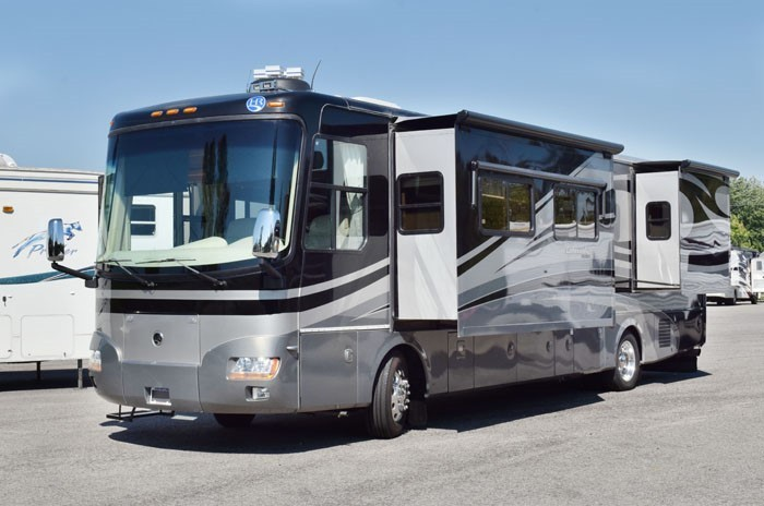 2007 Holiday Rambler AMBASSADOR 38PDQ 716-748-5730 4 SLIDES 330hp