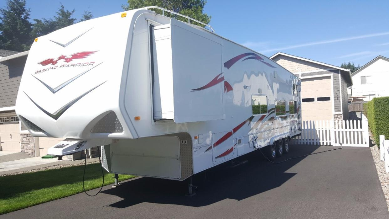 Weekend Warrior Toy Hauler rvs for sale in Vancouver ...
