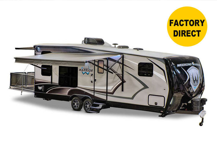 2017 Weekend Warrior 28W TOY HAULER Travel Trailer