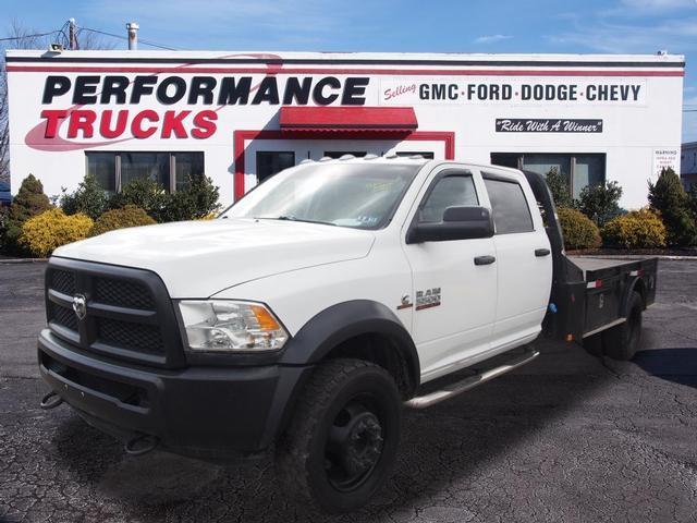 2014 Ram 5500hd Chassis Cab  Cab Chassis