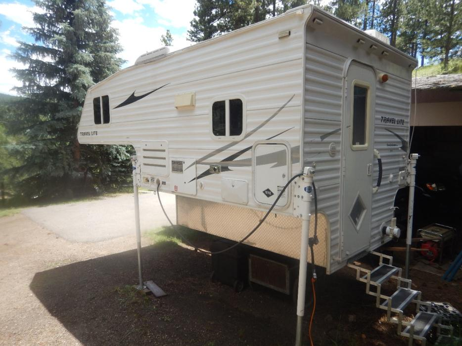 2007 Travel Lite 800std Truck Camper
