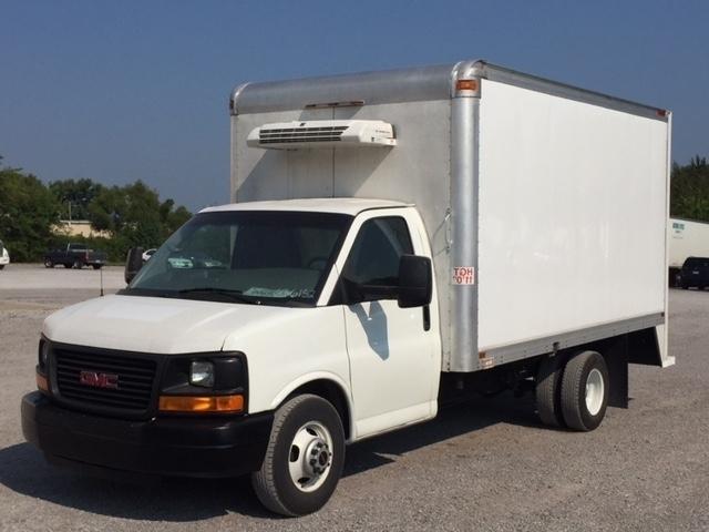 2012 Gmc Savana Cutaway Refrigerated Truck